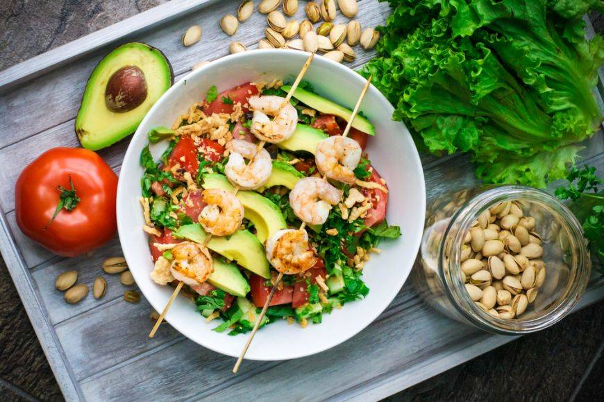 Salate bogate in omega3